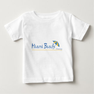 Miami Beach, Florida Umbrella Cool T Shirt