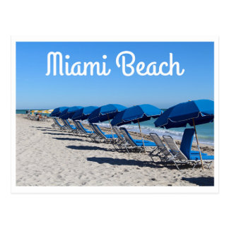 Miami Beach Florida - USA Postcard