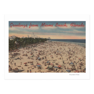 Miami Beach, FloridaGreetings FromMiami, FL Postcard