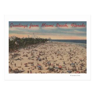 Miami Beach, FloridaGreetings FromMiami, FL Postcard