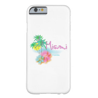 """""""Miami Beach iPhone cases with Palms, Flowers"""""""