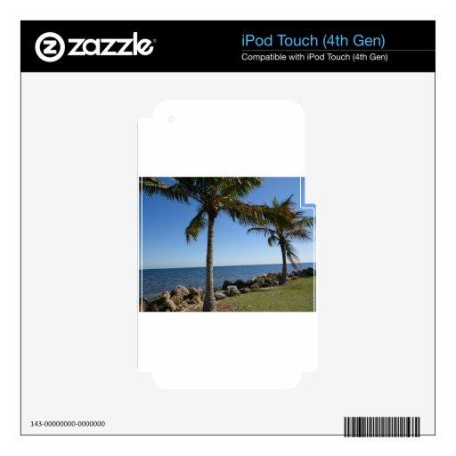 Miami Beach iPod Touch 4G Skin
