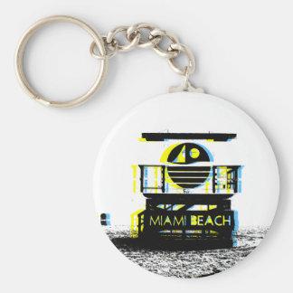 Miami Beach Key Chain