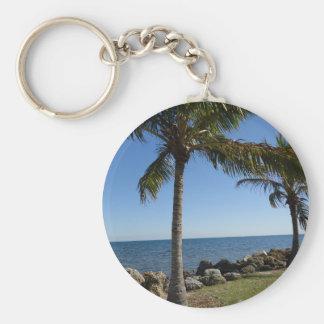 Miami Beach Keychain