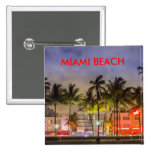 MIAMI BEACH LA FLORIDA CHAPA CUADRADA 5 CM