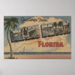 Miami Beach, la Florida - escenas grandes de la le Impresiones