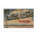 Miami Beach, la Florida - escenas grandes de la le Postales