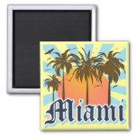 Miami Beach la Florida FLA Imán De Frigorifico