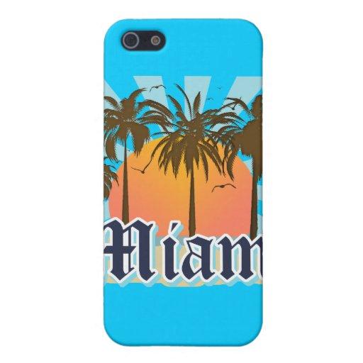 Miami Beach la Florida FLA iPhone 5 Carcasas