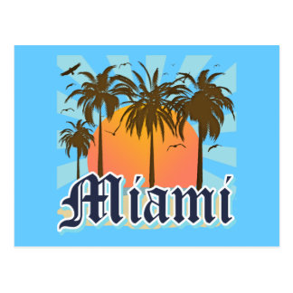 Miami Beach la Florida FLA Postal
