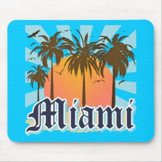 Miami Beach la Florida FLA Tapete De Ratón