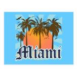 Miami Beach la Florida FLA Tarjetas Postales