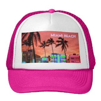 Miami Beach, la Florida Gorras De Camionero
