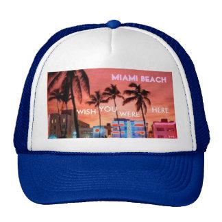 Miami Beach, la Florida Gorros