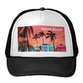 Miami Beach, la Florida Gorros Bordados