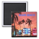 Miami Beach, la Florida Iman Para Frigorífico