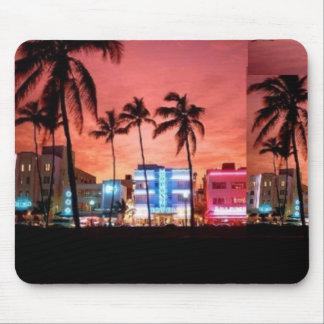 Miami Beach, la Florida Tapete De Ratones