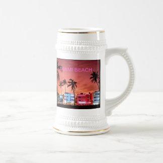 Miami Beach, la Florida Taza De Café
