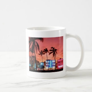 Miami Beach la Florida Tazas De Café