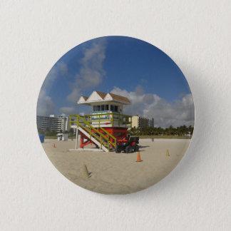 Miami Beach Lifeguards Ocean Patrol #05 Pinback Button