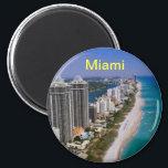 "Miami beach magnet<br><div class=""desc"">miami fridge magnet</div>"