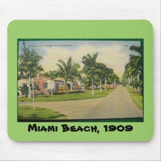 Miami Beach Mousepad from Sinthyia Darkness