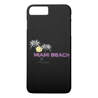 Miami Beach Pink Grey iPhone 8 Plus/7 Plus Case