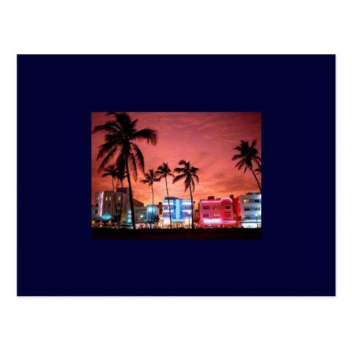MIAMI BEACH POST CARD