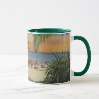 MIAMI BEACH SCENE mug