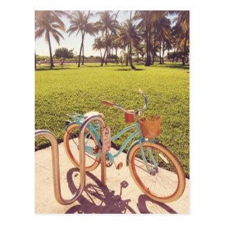 Miami Bicycle Postcard