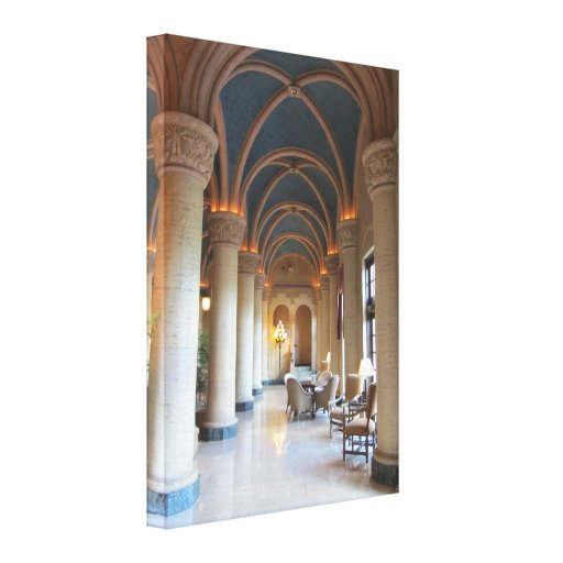 Miami Biltmore Hotel Lobby Gallery Wrapped Canvas