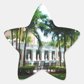 Miami Biltmore pool area Star Sticker