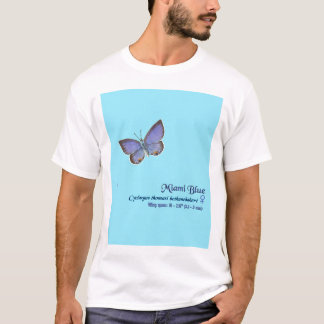 Miami Blue Butterfly #9 T-Shirt