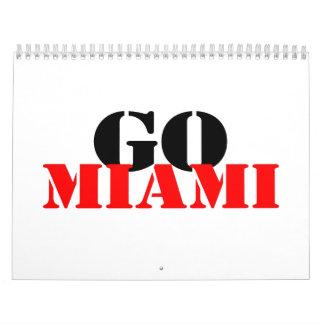 Miami Calendarios De Pared