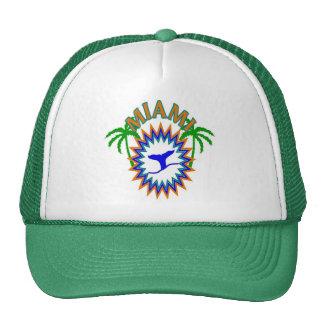 MIAMI CAP TRUCKER HAT