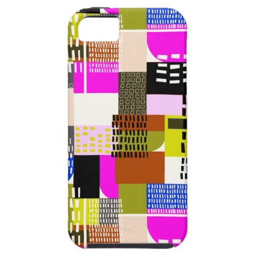 Miami céntrica iPhone 5 Case-Mate protectores