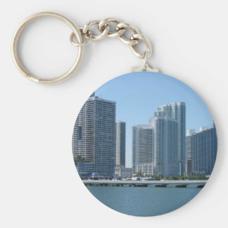 Miami céntrica llavero personalizado