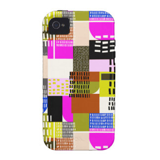 Miami céntrica vibe iPhone 4 funda