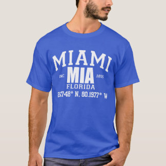 MIAMI city incorporated coordinates tee