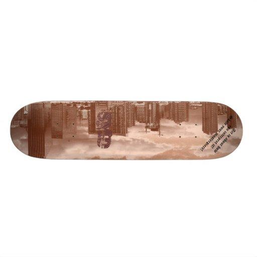 Miami City skateboard