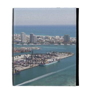 Miami Cityscape 2 iPad Folio Cover