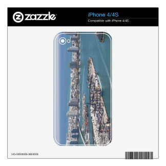 Miami Cityscape 2 Decal For The iPhone 4S