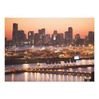 Miami Cityscape Custom Announcement