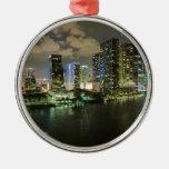 Miami Cityscape Ornaments