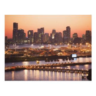 Miami Cityscape Postcard
