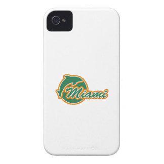 Miami con la casamata B.T. del iPhone 4/4S del del iPhone 4 Case-Mate Funda