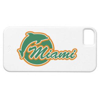 Miami con la cubierta del iPhone 5 del delfín iPhone 5 Funda