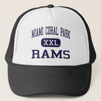 Miami Coral Park - Rams - High - Miami Florida Trucker Hat