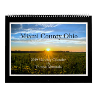 Miami County Ohio 2019 Monthly Calendar