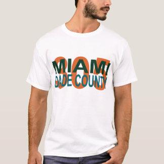 miami, dade, 305, Florida, I-95,  vice, beach, fin T-Shirt